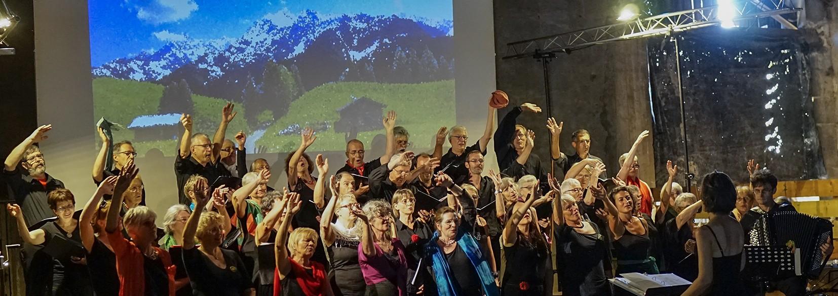 Maison du Terroir Genouilly Choeur Rencontres Concert L'Usage du Monde