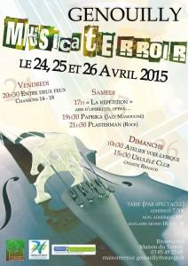 Affiche MusicaTerroir 2015