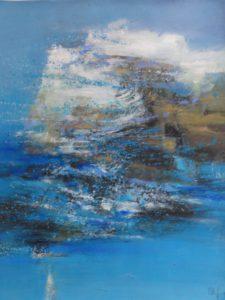 Rencontre - Mardi 6 juin à 20h30 -  avec le peintre qui commentera ses toiles avec le public.