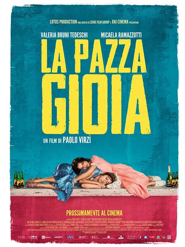 Festival de cinéma italien - Mercredi 11 Octobre – 20h30 – La pazza gioia @ Maison du Terroir, salle Lagrange