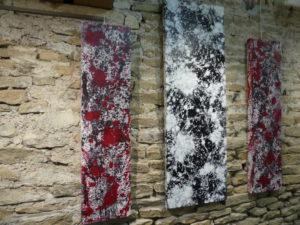 Exposition Nos adhérents ont des talents - Nicolas Bourdon acryliques et huiles