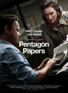 "CinéVillage - Mardi 15 Mai - 20h30 - ""Pentagon Papers"""
