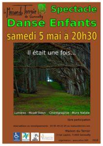 Spectacle fin d'année de l'Atelier Danse Enfants - Samedi 5 Mai - 20h30