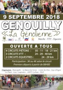 Génolienne - Dimanche 9 Septembre 2018- Genouilly