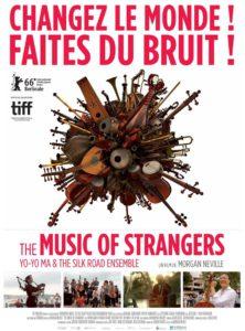 """Festival """"Docs en Goguette"""" - Mardi 20 Novembre - 20h30 - JULLY-lès-BUXY - Salle des Fêtes -""""The Music of Strangers"""""""