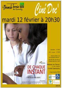 """Ciné Doc - Mardi 12 Février - 20h30 """"De chaque instant"""""""