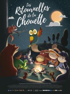 """Ciné ToutPetits - Dimanche 28 Avril - 17h00 - """"Les ritournelles de la chouette"""""""