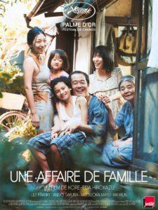 """CinéVillage - Mardi 14 Mai - 20h30 - """" Une affaire de famille"""" en VO"""