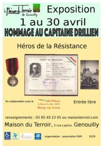 Exposition: Hommage au Capitaine DRILLIEN  - Héros de la Résistance