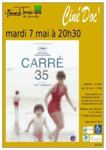 """Ciné Doc- Mardi 7 Mai - 20h30 """"Carré 35"""""""