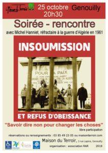 """Soirée débat  """""""" Pour protéger la démocratie?"""""""" Vendredi 25 Octobre - 20h30"""