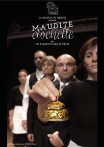 Théâtre -Cie Les Fameux Fonds De Tiroir de la Maison du Terroir -Vendredi 10 janvier - 20h30 - Chagny -« Maudite clochette »
