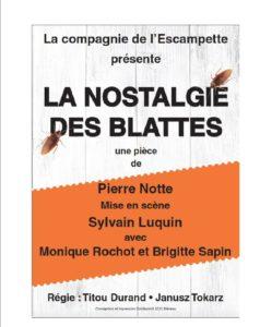 REPORT -Théâtre - Cie de l'Escampette -La nostalgie des blattes