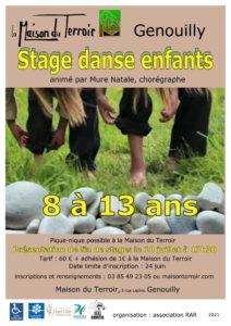 Stage Danse Enfants du 8 au 10 Juillet