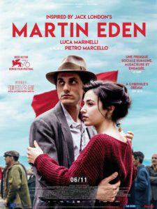 "Cinéma Italien - ""Martin Eden"" de Pietro MARCELLO - Vendredi 15 Octobre - 20h30"